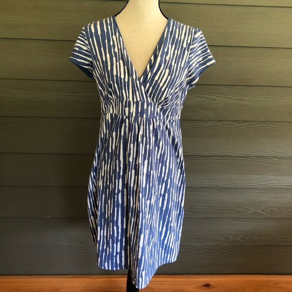 Boden Dresses & Skirts - Boden wrap dress boho short sleeve stretchy US 10P